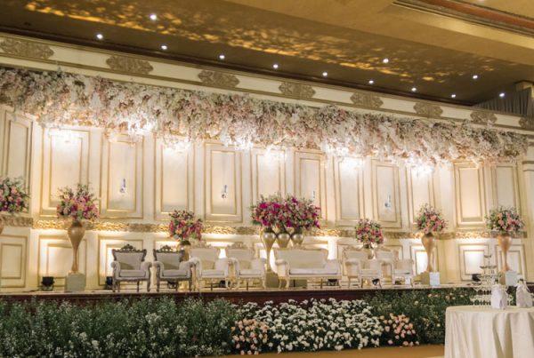 Wedding Decoration – White Pearl Decoration